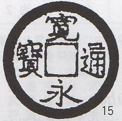 寛永通宝 沓谷銭