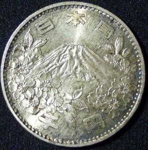 記念貨幣 1964年 東京オリンピック記念1,000円銀貨