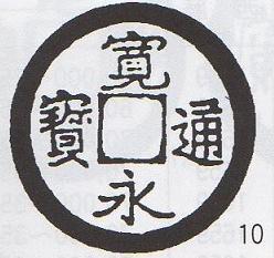 寛永通宝 岡山銭