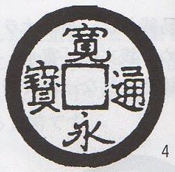 寛永通宝 坂本銭